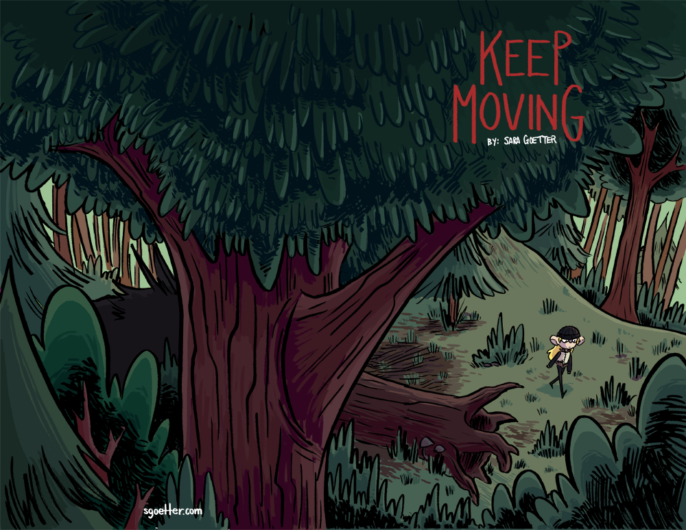 Keep Moving Cover
