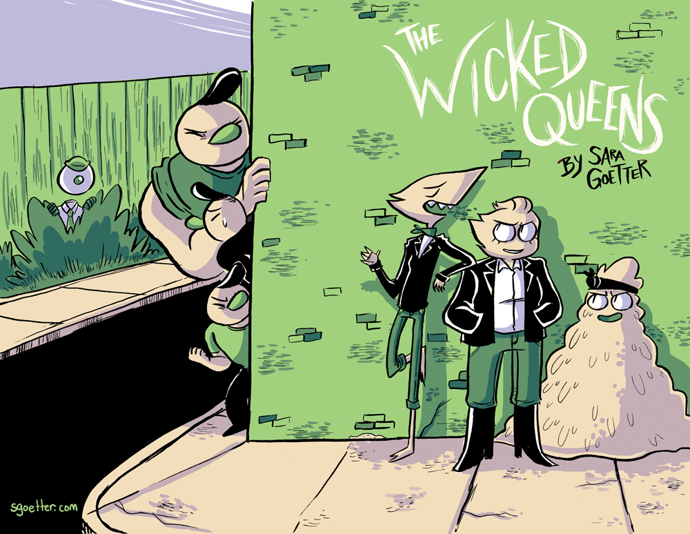 Wicked Queens cover