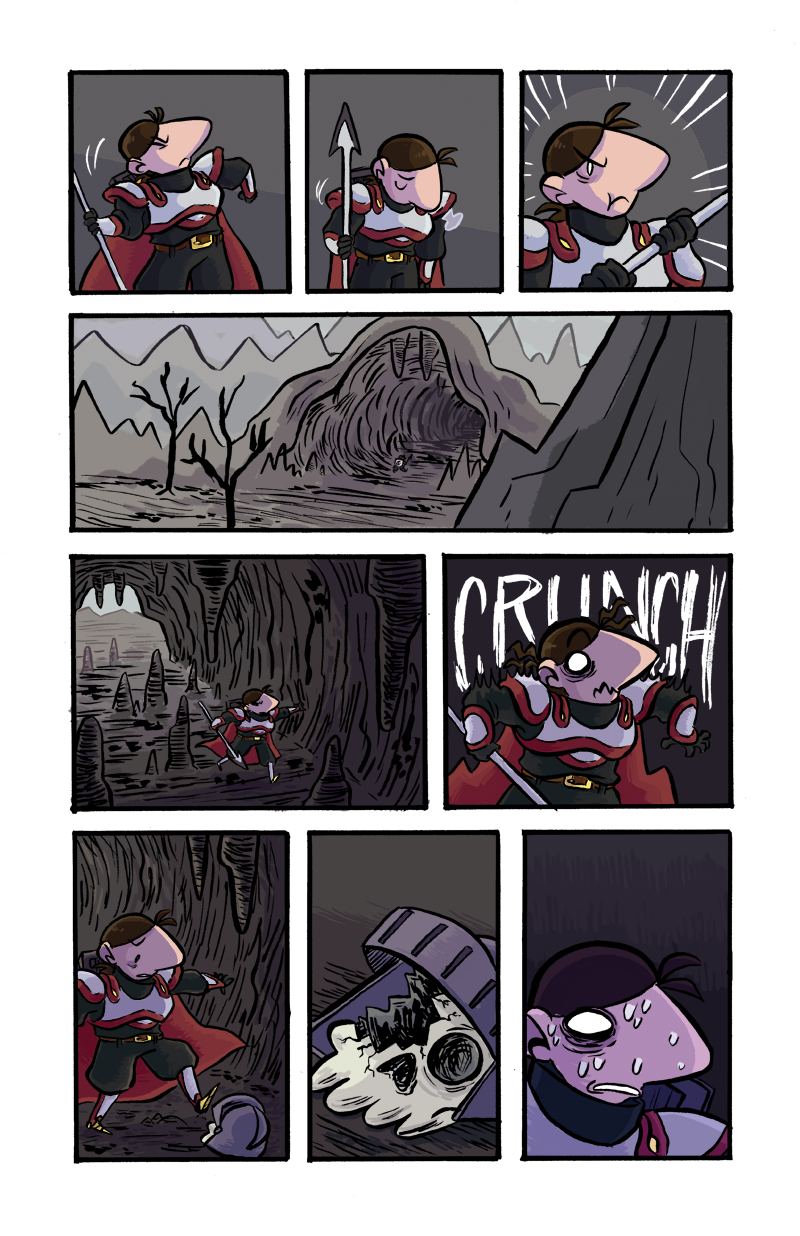Lady Tilda and the Dragon page 2