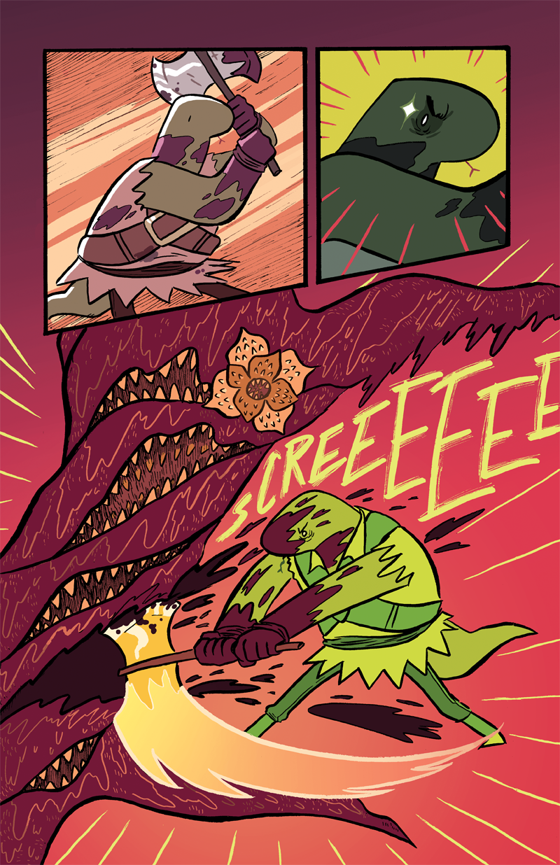 Dungeon Critters #1 Page 28